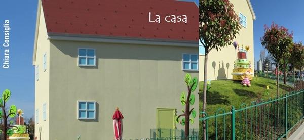 la casa collage