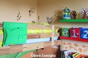 Come decorare le pareti della cameretta con gli stickers