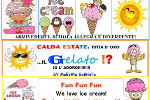 Matematica in lingua inglese con protagonista il gelato!