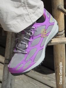 particolare scarpa