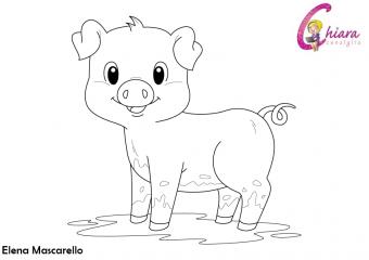 Disegni da colorare: gli animali della fattoria