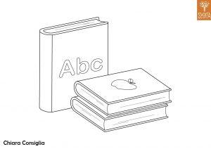 Disegni da colorare: gli oggetti scolastici
