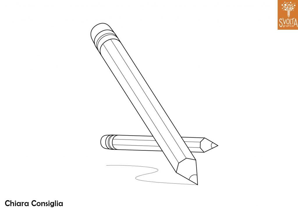 Disegni da colorare gli oggetti scolastici - Torna a scuola da colorare ...
