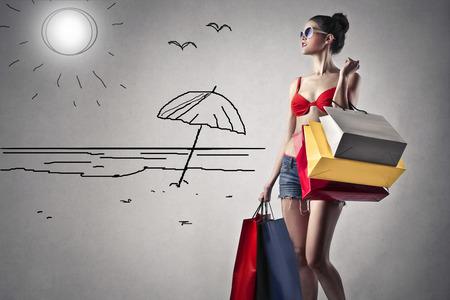 28468753 - shopping girl