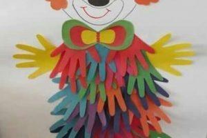 Pagliacci di carta da costruire con i bambini