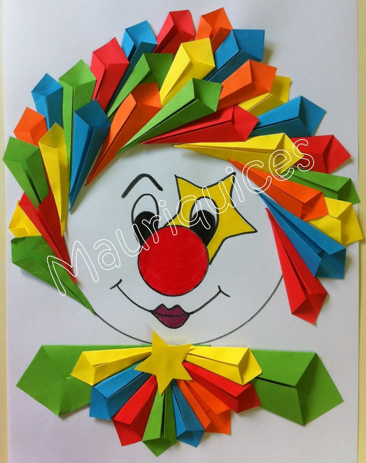 pagliaccio origami