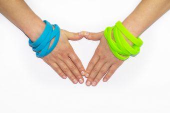 Un accessorio waterproof? Con i braccialetti in silicone è possibile!