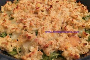 """Torta """"scomposta """" di zucchine e patate"""