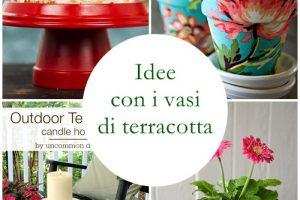 Idee e progetti con i vasi di terracotta
