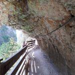 San Romedio: il sentiero nella roccia