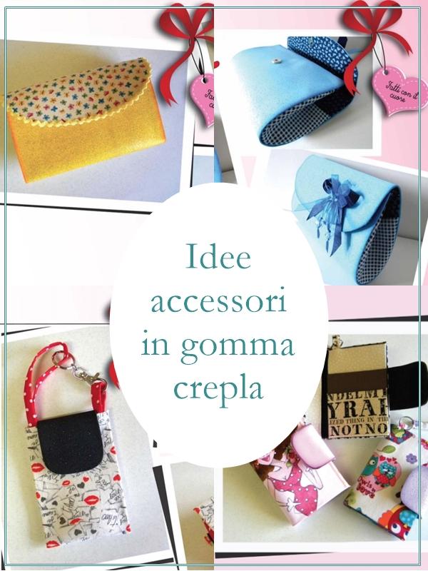 Idee e progetti di accessori in gomma crepla for Idee e accessori