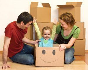 Traslocare con i bambini: i dubbi più frequenti