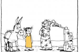 Diritto all'acqua potabile: un fumetto per sensibilizzare
