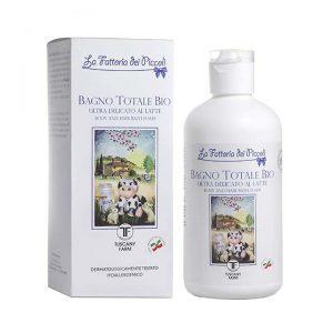 La fattoria dei piccoli: prodotti per il corpo al latte