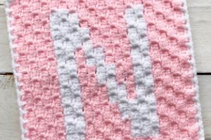 Come realizzare le lettere dell'alfabeto a crochet