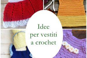 Idee e progetti per realizzare un vestito da bambina a crochet