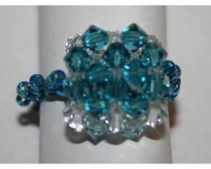 Gli anelli swarovsky di Luciana