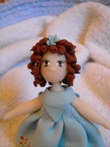 Le bambole in fimo e pasta di pane di Laura