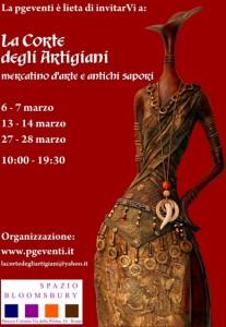 La corte degli artigiani:mercatino d'arte e antichi sapori. Non partecipare sarebbe un peccato!