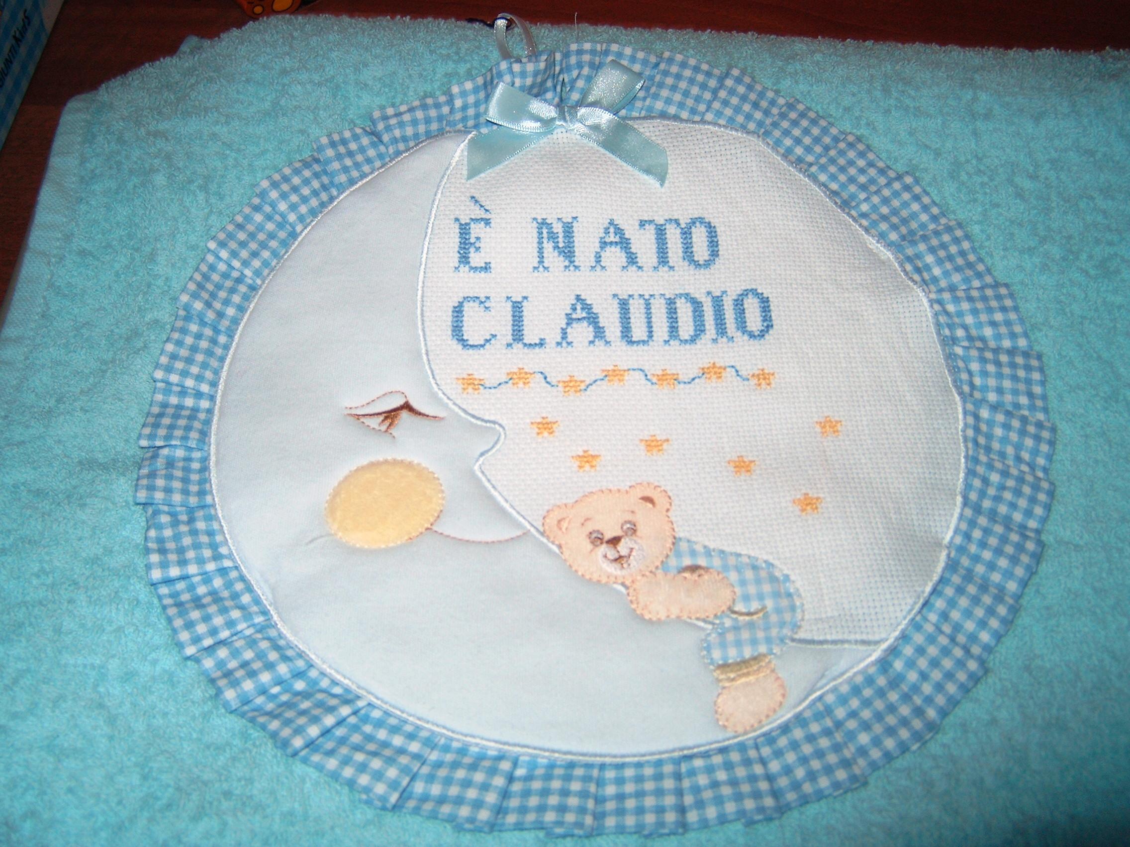 Conosciuto Il fiocco nascita di Chiara LG69