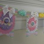Decorazione di Pasqua con lo scrapbook