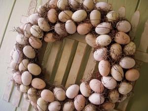 Tante idee per una ghirlanda di Pasqua