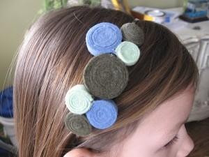 Tutorial : come realizzare un cerchietto per capelli