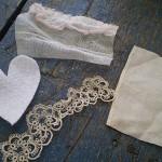 Cuori di stoffa imbottiti