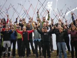Corso Istruttori Nordic Walking della Scuola Italiana Nordic Walking a Rovigo 23-24 Gennaio