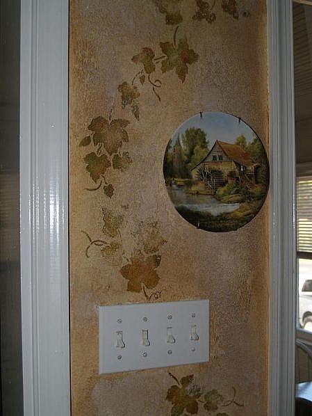 Stencil for Stencil per pareti cucina