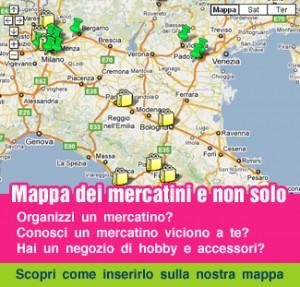 I mercatini di aprile e i nuovi negozi di Hobbistica: la mappa di Minishop Tryart