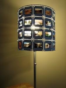 lampada con diapositive