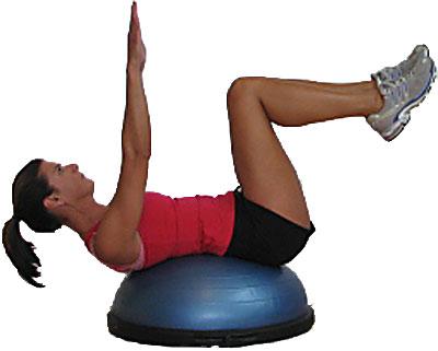 Bosu: la nuova frontiera dello step e del pilates. Video con esercizi da fare anche a casa con il Bosu!!!
