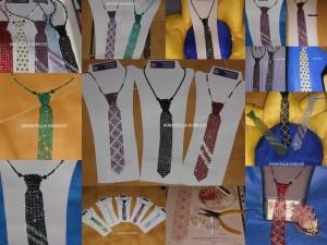 mix di cravatte