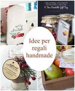 idee per regali handmade