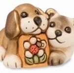Coppia cane e gatto con margherita-Thun