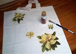 Come decorare a decoupage una borsa: tutorial