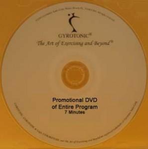 Gyrotonic and Gyrokinesis Promotional DVD