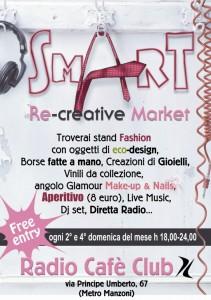 Domenica 28 febbario Eva Milan allo SmArt Re-creative Market